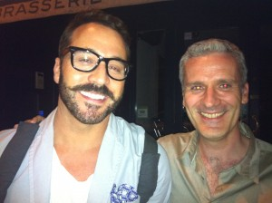 Brian with Jeremy Piven